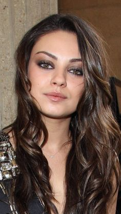 Mila Kunis - love the make-up and hair