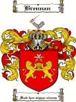 Brennan Coat of Arms / Brennan Family Crest
