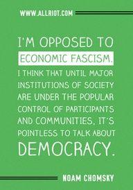 Noam Chomsky quote - #IdleNoMore
