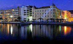Volos night Greece, Night, Greece Country