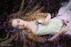 Sleeping beauty and magical capsule. A short story by Anisa