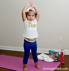 Pampers Mommy and Me FITness #SagtoSwag #ad ways to get babies/toddlers moving