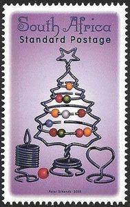 Stamp: Fur-tree (South Africa) (Christmas 2005) Mi:ZA 1673