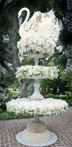 What a fabulous way to display escort cards.thank you Preston Bailey. Preston Bailey, Dream Wedding, Wedding Day, Swan Lake Wedding, Wedding Reception, October Wedding, Garden Wedding, Table Cards, Card Tables