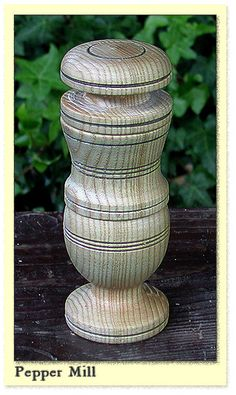 pepper mill, after one found on the Mary Rose (sank Medieval, Sink, Mary, Woodworking, Camping, Stuffed Peppers, Rose, Home Decor, Campsite