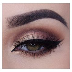 Smokey Eye Looks In 10 Gorgeous Shades ❤ liked on Polyvore featuring beauty products, makeup and eye makeup
