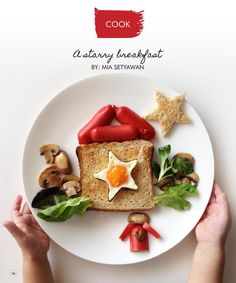 A starry breakfast to make with kids - from Kids Nation Magazine #clippedonIssuu