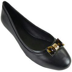 NEW! Tory Burch Black Jolene Leather Ballet Flats Authentic Tory Burch gives classic ballet flats a chic twist with a durable hard plastic tortoise patterned bows in a style that works and plays on the weekends! Features:round toe, contrast leather trim, tortoise shell hard plastic bow with gold tone metal iconic logo accent, leather upper & lining,rubber sole, padded Insole for extra comfort. Dustbag included. DISCOUNTED BUNDLES AND FREE GIFT WITH EVERY PURCHASE! Tory Burch Shoes Flats…