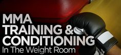 MMA Training & Conditioning In The Weight Room - About to begin this workout by the great Alwyn Cosgrove.