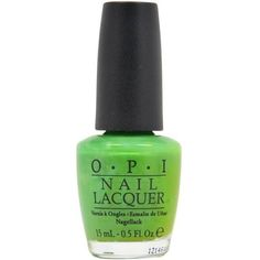 Nail Lacquer # NL B69 Green-wich Village by OPI for Women 0.5 oz Nail... (8.71 AUD) ❤ liked on Polyvore featuring beauty products, nail care, nail polish, nails, beauty, makeup, opi nail color, opi nail polish, opi nail lacquer and opi nail varnish