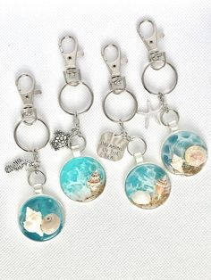 Diy Resin Projects, Diy Resin Art, Diy Resin Crafts, Diy Cabochon Earrings, Gifts For Teens, Gifts For Mom, Resin Jewelry, Jewelry Crafts, Sea Turtle Gifts