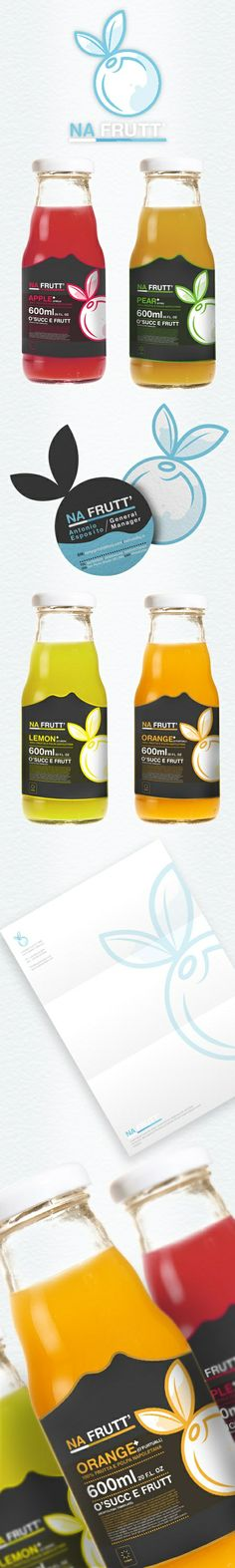 This label design is very creative with the little bit of simple cutout at the top of the label making it effective because it is different.