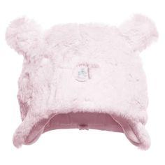 Absorba Baby Girls Pink Fur Hat at Childrensalon.com