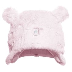 Absorba Baby Girls Pink Fur Hat at Childrensalon.com