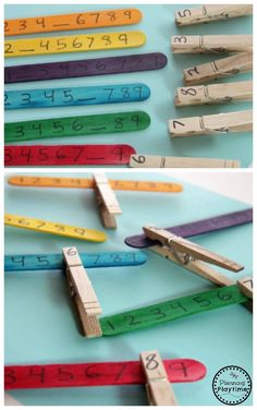 Fun Missing Number Math Activity for Kids.