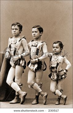 Young circus performers - I HATE circuses. I hope these kids didn't hate them as well.