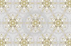 Mosaic grey background gold stars
