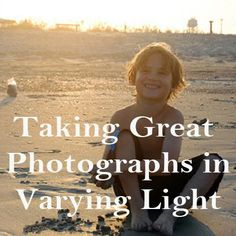 Getting great photos of your kids in varying light. This can be so tricky! Great tips from @Spoonful