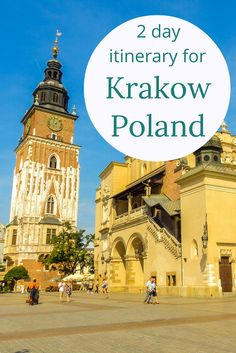 Adoration 4 Adventure's 2 day itinerary for Krakow, Poland. Exploring the Old Town, Wawel Castle, Oskar Schindler Factory and Jewish Quarter.