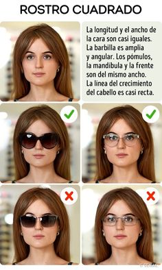 How to Pick the Perfect Sunglasses for Your Face Type - Lunettes Square Face Glasses, Glasses For Round Faces, Glasses For Your Face Shape, Ray Ban Mujer, Fashion Eye Glasses, Cute Sunglasses, Square Faces, Personal Stylist, Face Shapes