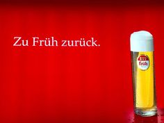 Germany's best beer: Früh Kölsch!