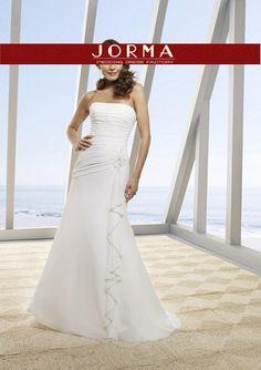 Ivory Strapless 2013 new Wedding Dress 4952