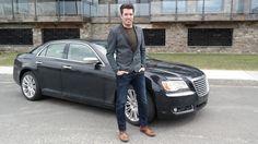 Jonathan with his 2014 Chrysler 300
