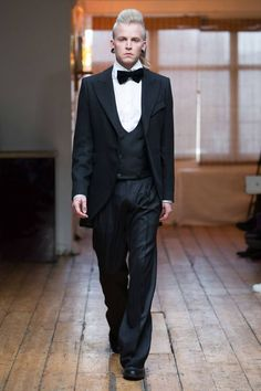 Male Fashion Trends: Florin Dobre Fall/Winter 2016/17 - London Collections: MEN