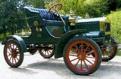 1905 Maxwell. Maxwell-Briscoe Motor Company. Newcastle.  1904-1924