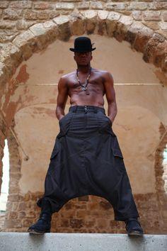 Harem Pant, Men's Trousers,Harem Pants Men, Drop Crotch Pants,Gifts for Him, Mens Fashion, Christmas Gifts