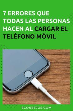 046c01f8d768 Teléfonos Móviles - Los errores al cargar Cargar Celular, Baterias De  Celulares, Accesorios Para