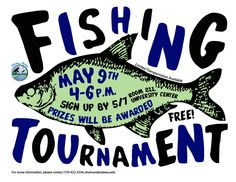 Lindsay Godin, Design for Stony Acres Fishing Tournament