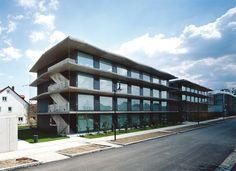 Fink + Jocher. Residencia de estudiantes. Garching. Munich