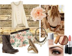 """""""spring floral"""" by ramissa on Polyvore"""