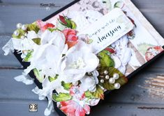 Hi, everyone! It's Karen Jiles here and I have to admit that I really enjoyed working with the Compose Your Life Collection to create this romantic album cover. The papers are absolutely beautiful. The collection includes several patterns that coordinate perfectly together. I created the album cover to hold some ...