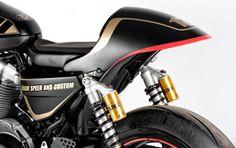 XR 1200 Sportster by Shaw Speed & Custom - via Curil Huze