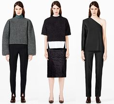 My 3 favourite looks from the COS FW13 lookbook