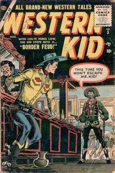 BIOGRAFIAS E COISAS .COM: The Western Kid(capas marvel)