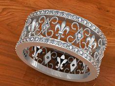 Fleur de Lis Ring. Love Ring, Jewellery Storage, Purple Wedding, Ring Designs, Glitters, Wedding Bands, Cuff Bracelets, Jewerly, Women Accessories