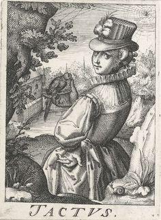 """""""Tactus"""" by Hendrick Hondius (I), 1583 - 1650"""