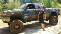 Muddy Truck www. Custom Truck Parts Muddy Trucks, Custom Truck Parts, Sexy Cars, Lifted Trucks, Cool Cars, Monster Trucks, Yep Yep, Mafia, Vehicles