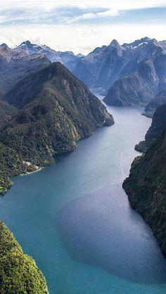 Doubtful sound, The South Island, New Zealand