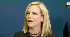 Nielsen's life is now about destroying brown skinned people's lives. When Nielsen wants to dine on their food, it might cause a problem.  Nielsen should stay out of those restaurants just like I should stay out of Trump restaurants. Our hatred is not welcomed.   😍🇮🇷🇮🇷🇮🇷🏳️🌈🍷On Tuesday, Secretary of Homeland Security Kirstjen Nielsen tried to enjoy some fine Mexican dining. It didn't go as planned. According to witnesses, the secretary was driven out of a restaurant by members of…
