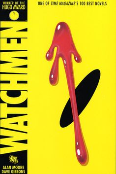 Graphic Novel Classics: Watchmen, by Alan Moore. This immensely popular graphic novel is about the lives of a group of super heroes, and how their human failings cause their fall from grace. Like most other books, it is far better than the movie! Book Club Books, Good Books, My Books, Book Clubs, Amazing Books, Book Art, Gandalf, Books To Read Before You Die, Dave Gibbons