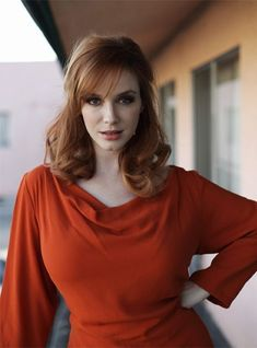 Christina Hendricks ♠ by alwaraky ♠