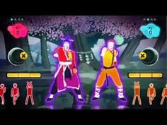 Just Dance 2 - Kung Fu Fighting - YouTube