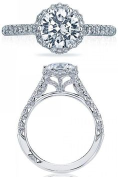 Tacori Engagement Rings: Beauty from every angle  -James and Sons Jewelers- Orland Park, Lincoln Park, Schererville