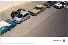 VW always bring have the best ads. This is a great example of reductionism.