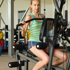 Stay in shape with 20 minutes on a Bowflex machine, three to four times a week.