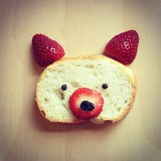 Creatively playing with your food is totally a-okay. :) (psst, we're on…